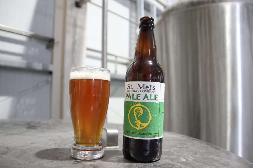 St. Mel's pale Ale is a great Irish beer, one you can only get in Longford.