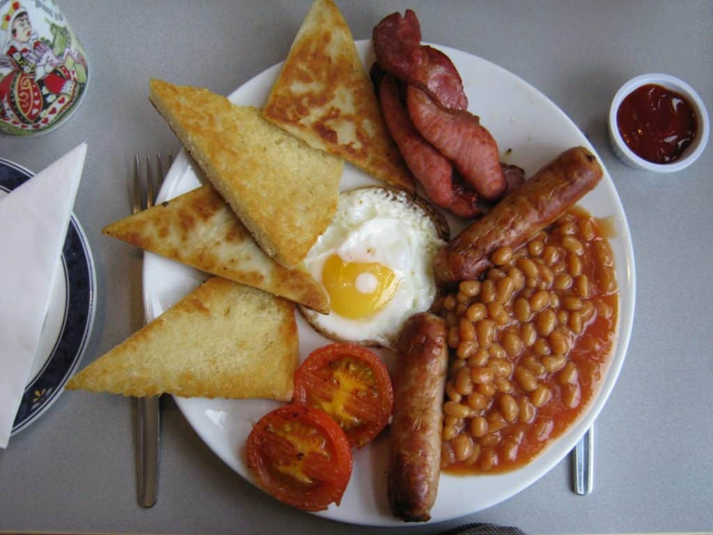 The Pit Stop Cafe in Bangor is another of our favourite places to get an Ulster Fry in Ulster.