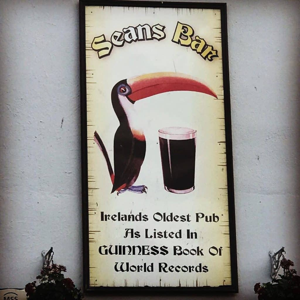 Sean's bar is apparently the oldest pub in Europe