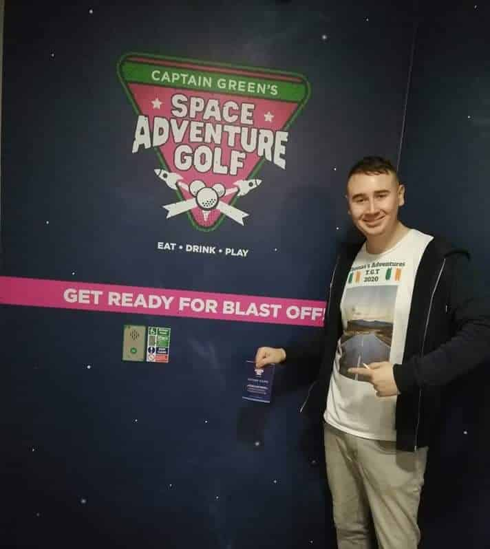 Thomas recommends Space Adventure Golf in County Armagh