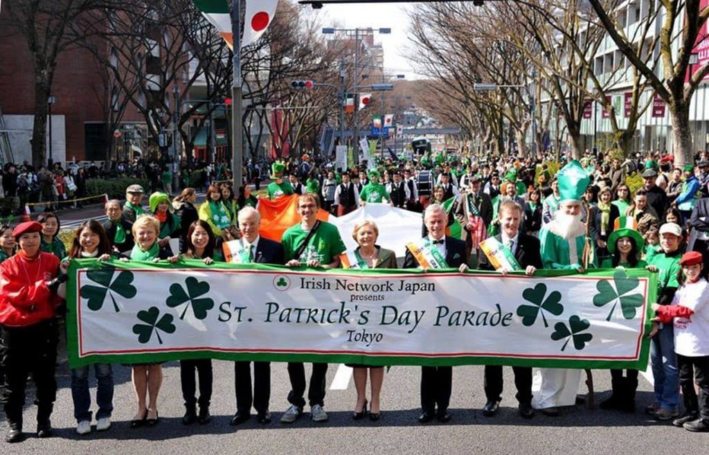 Who'd have thought Tokyo, Japan, would have some of the biggest St. Patrick's Day traditions around the world.