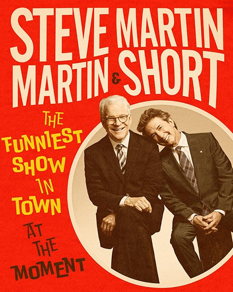 Steve Martin and Martin Short in their comedy show is one of the best events in Ireland this March.