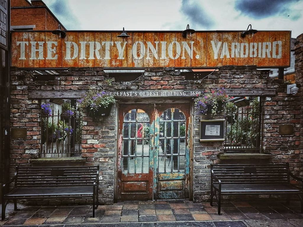 Belfast bars and pubs with quirky names include the Dirty Onion