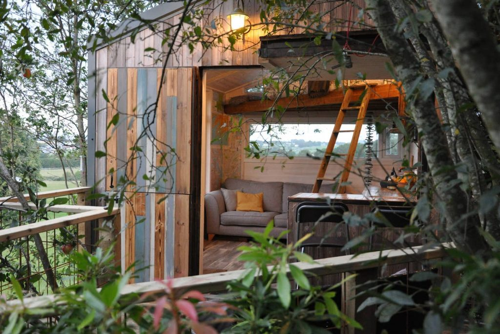 The Hideout is a unique treehouse Airbnb