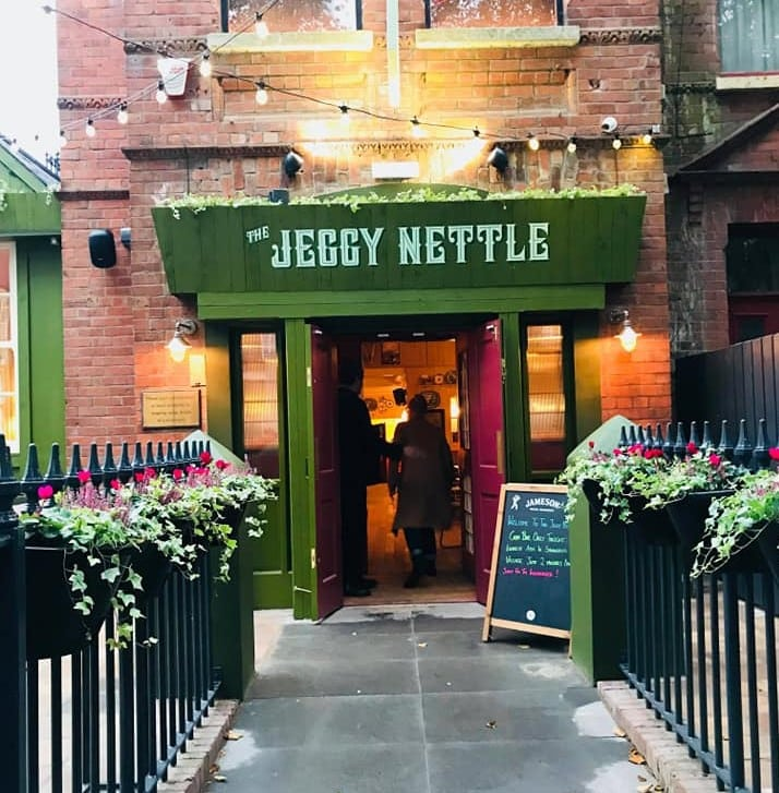 Belfast bars and pubs with quirky names include the Jeggy Nettle