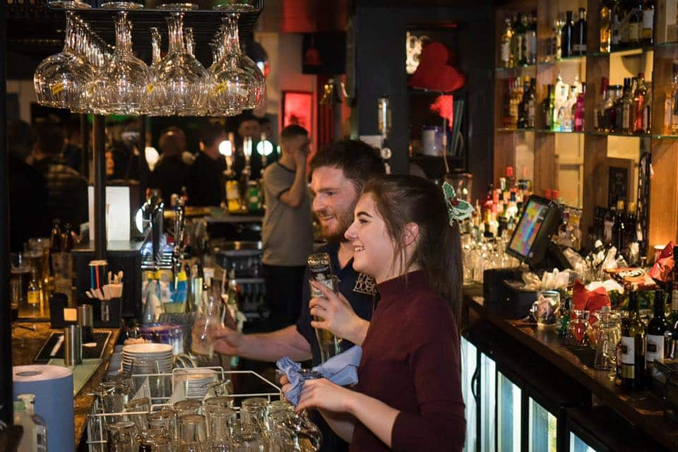 The Poet Bar and Grill is one of our favourite pubs and bars outside Belfast City Centre.