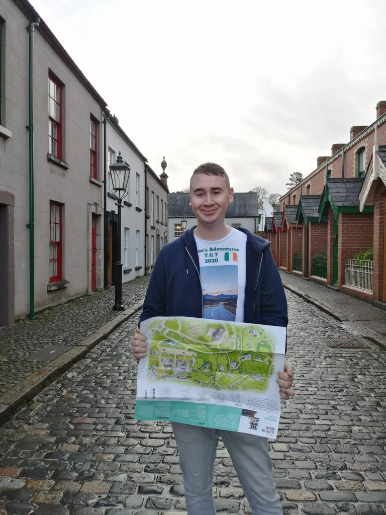 Thomas Smith is well travelled, and his favourite places in Ireland include the Ulster Folk Museum