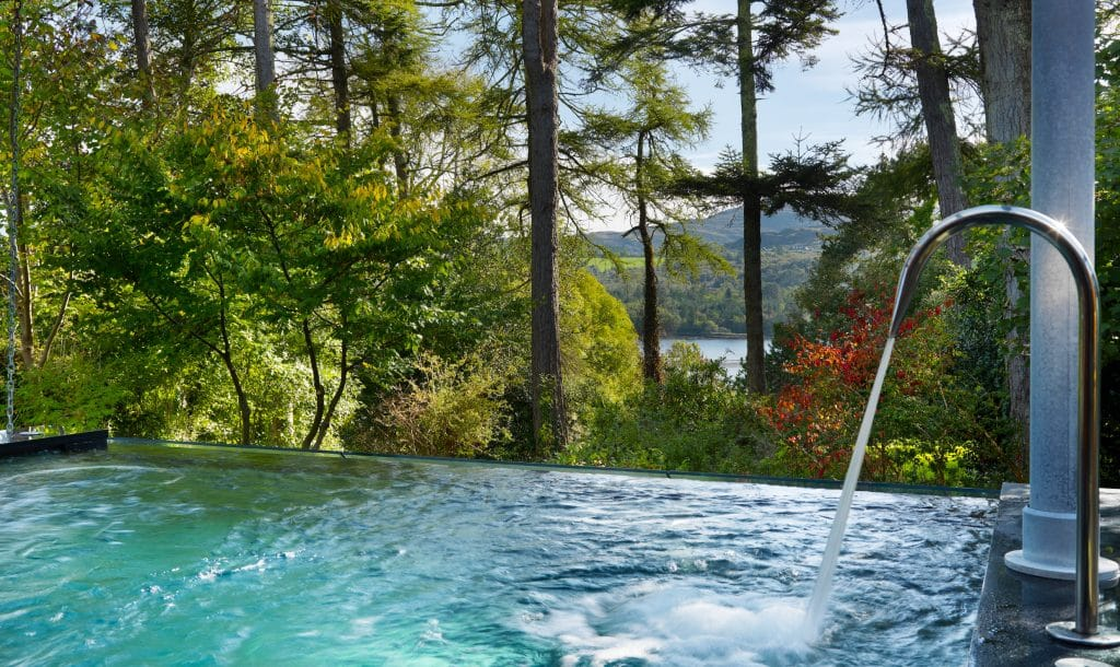 One of the most luxurious spas in Ireland is Park Hotel Kenmare, it boasts a view of Kenmare Bay.
