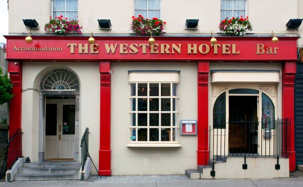 One of the best hotels in Galway City Centre is The Western Hotel, a romantic and beautiful place to stay.