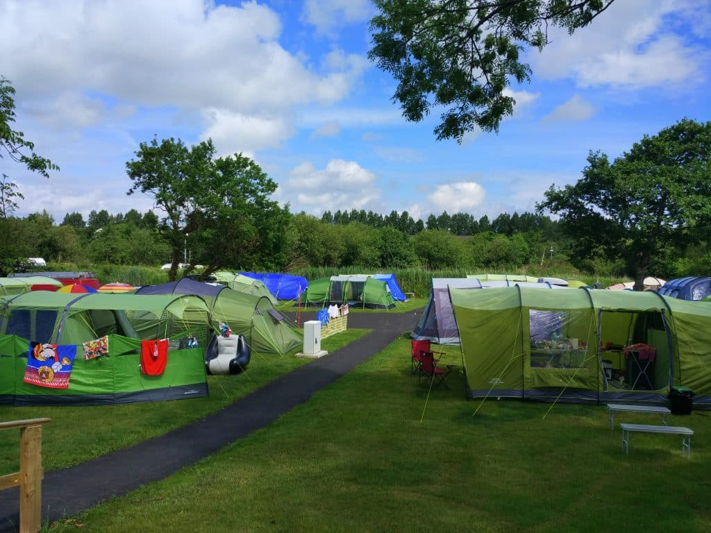 Woodlands Caravan and Camping Park is another of our top campervan sites in Ireland, found in Kerry.