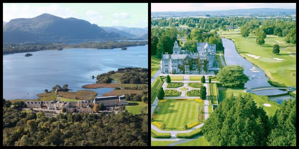 10 incredible hotels in Ireland with stunning views.