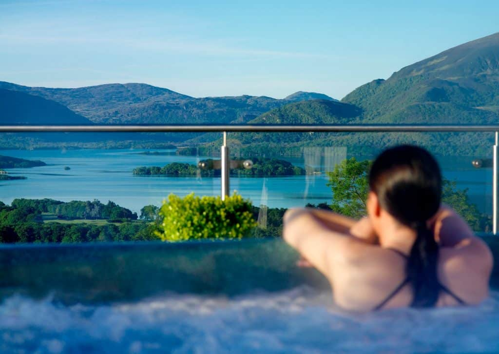 Aghadoe Heights Hotel has a spectacular view and is one of the best 5-star places to stay, especially in Killarney.
