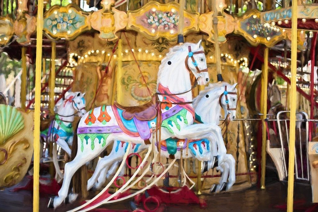 The City at Play Funfair will include carousel and other fun attractions