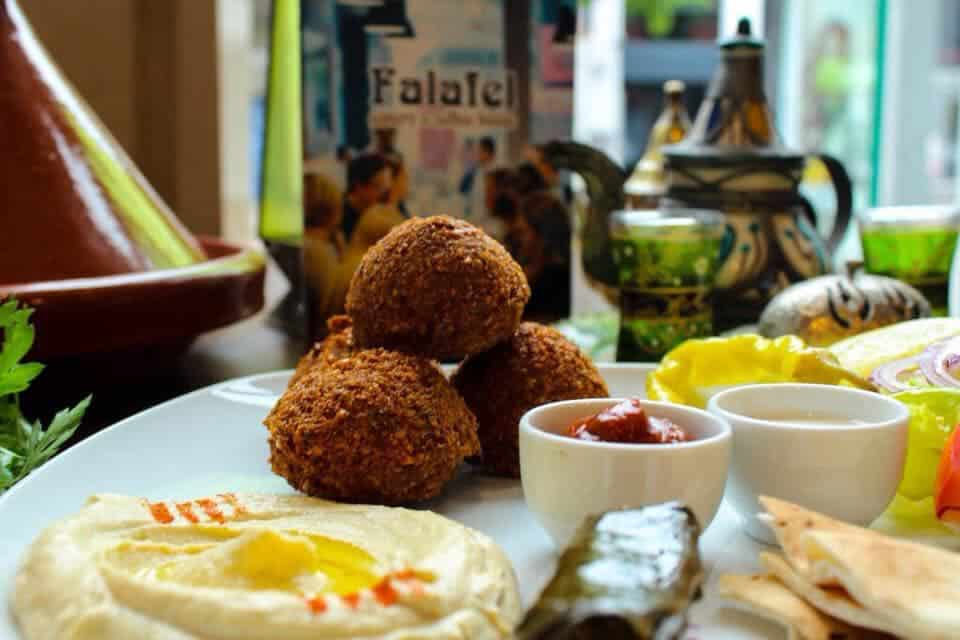 Falafel Eatery is another of our top picks for delicious vegetarian food in Belfast.