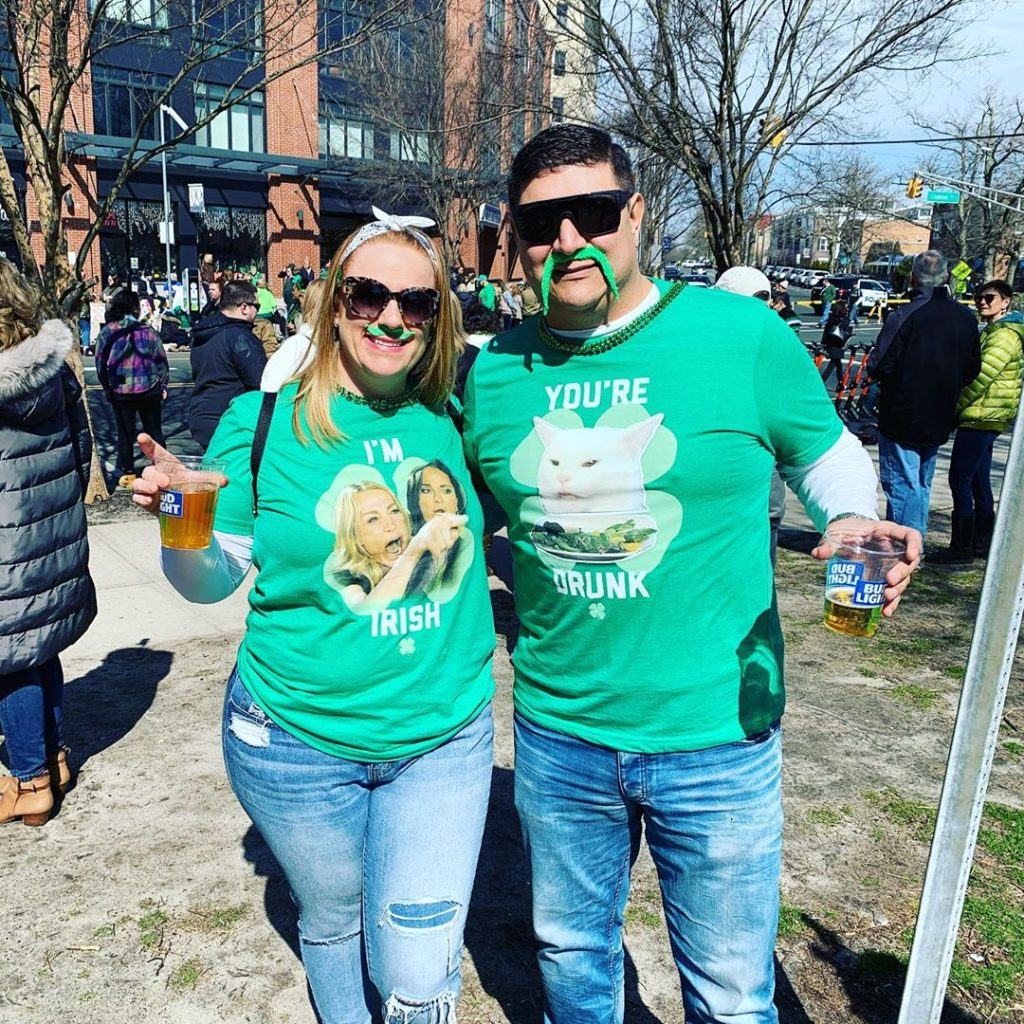 Memes arr great and including them in your St Patrick's Day outfits are always a great idea.