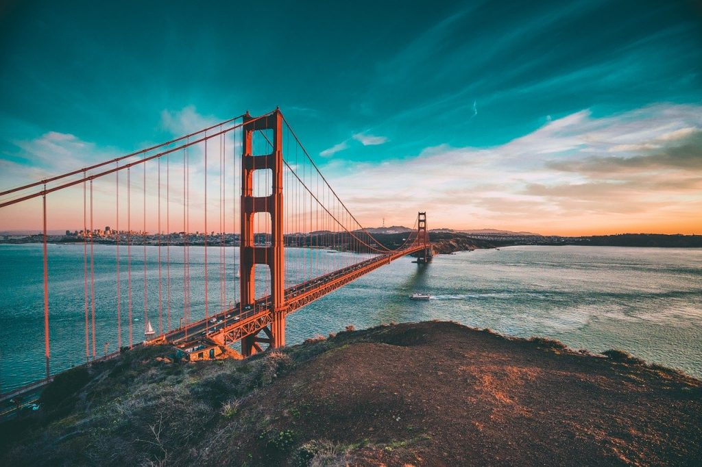 The Golden Gate Bridge wouldn't exist without Irish people's help.