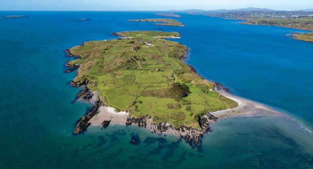 Horse Island is another of the islands around Ireland you never knew existed, it's also for sale!