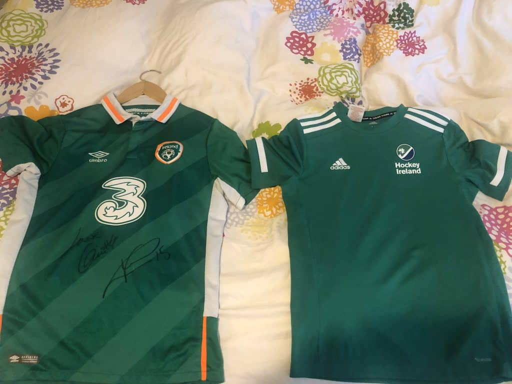 All the Ireland sports jerseys come out on this day