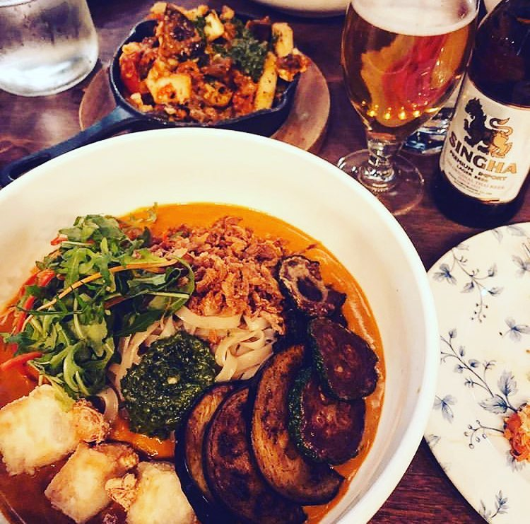 Try checking Jumon, one of the best vegetarian food spots in Belfast, they remix Asian food for vegetarians.