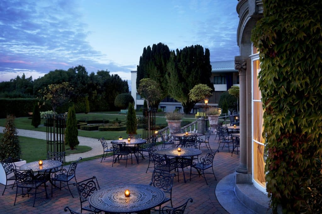 Lyrath Estate is one of the snazziest 5-star hotels in Ireland, it's spectacular.