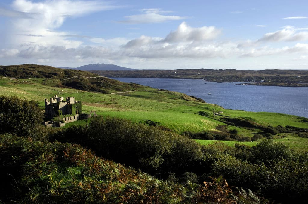 Another of the top haunted castles in Ireland is Clifden Castle, a place full of famine-time ghosts.