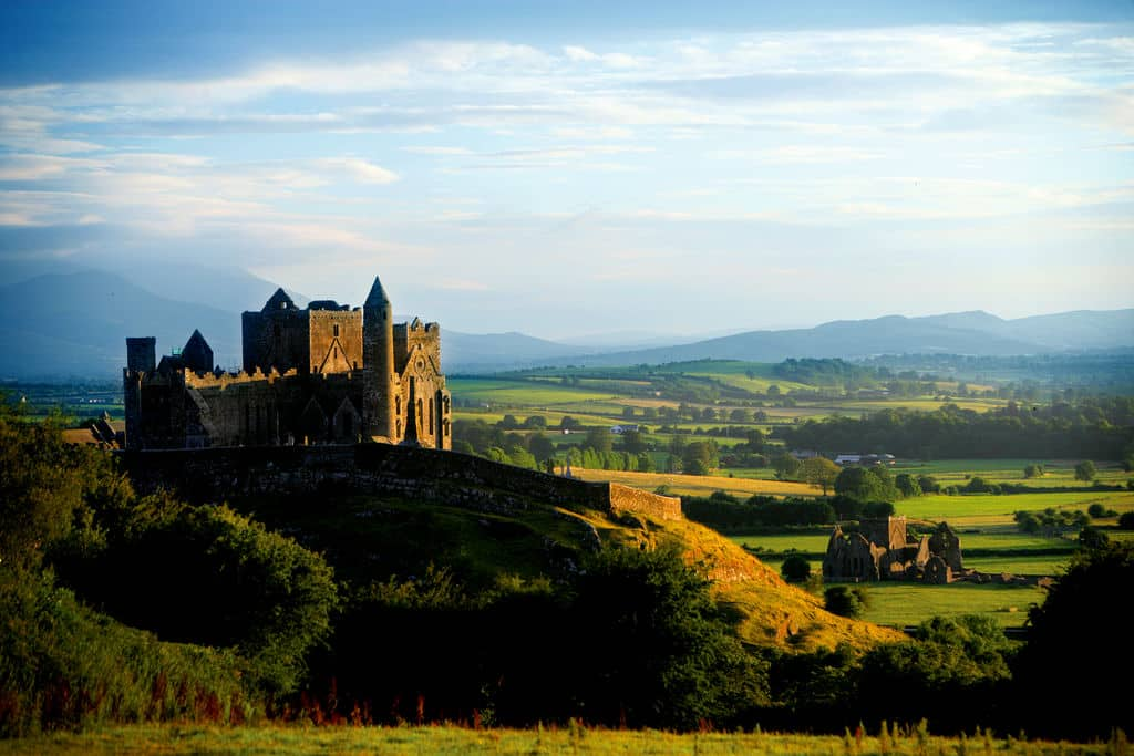 One of our facts about the Rock of Cashel is that it's over 1,000 years old.