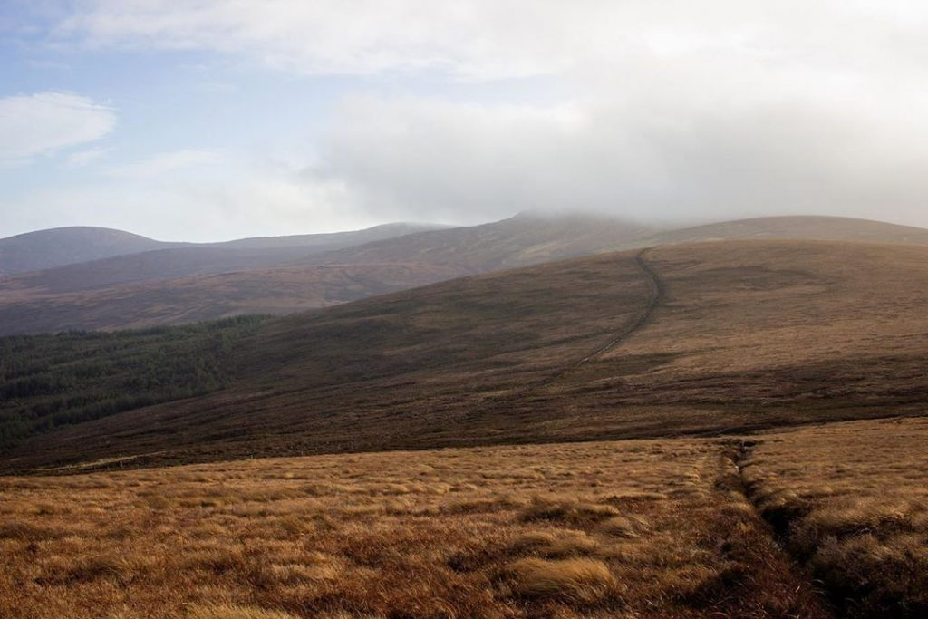 Mullaghcleevaun Mountain is another of the highest mountains in Ireland, at a whopping 849 metres.