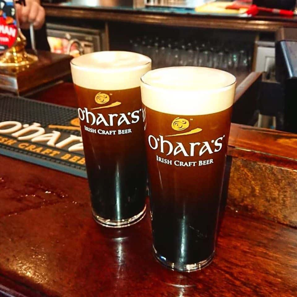 Oharas Irish craft beer is another of the best Irish beer brands you have to try.