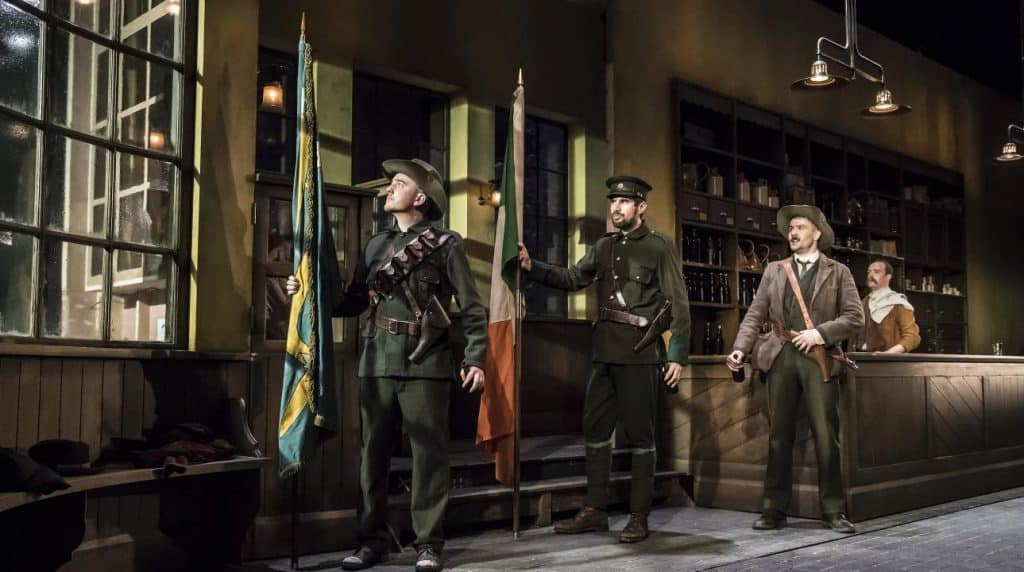 Sean O'Casey's The Plough and the Stars is a great play about the 1916 Easter Rising.