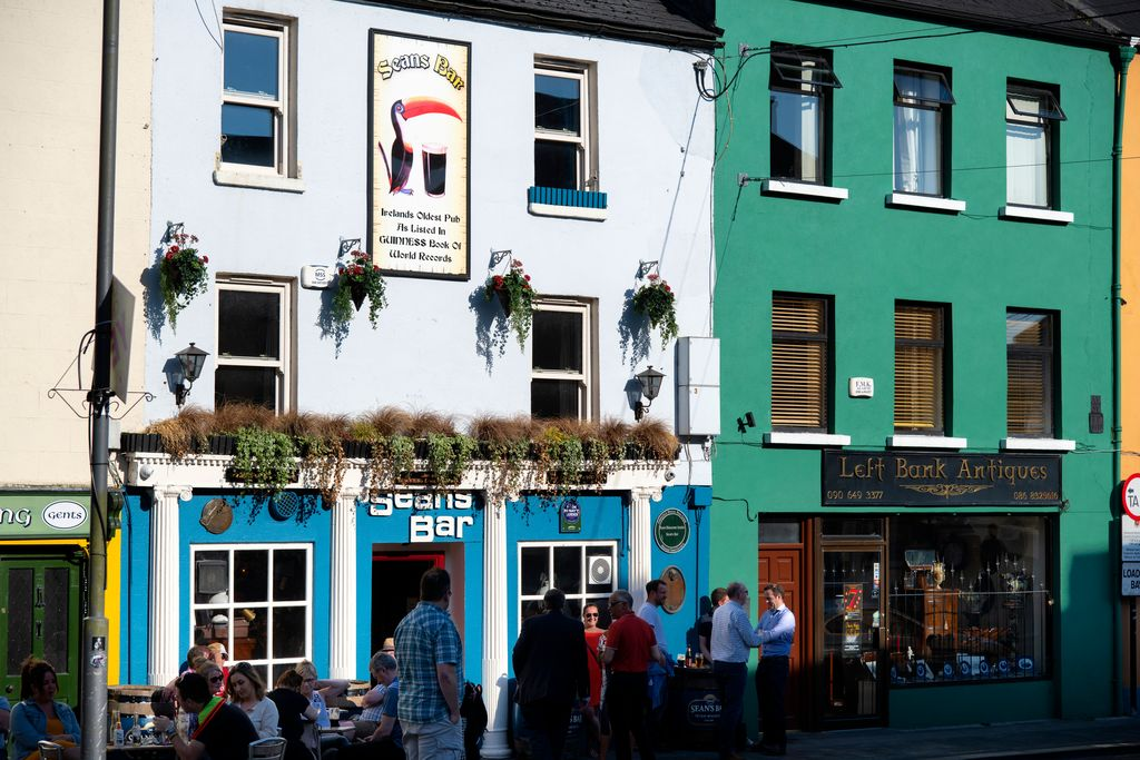 Sean's Bar in Athlone is one of the top of Ireland's tourist attractions.