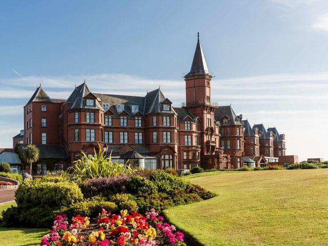 The Slieve Donard Hotel and Spa is set in the beautiful seaside town of Newcastle.
