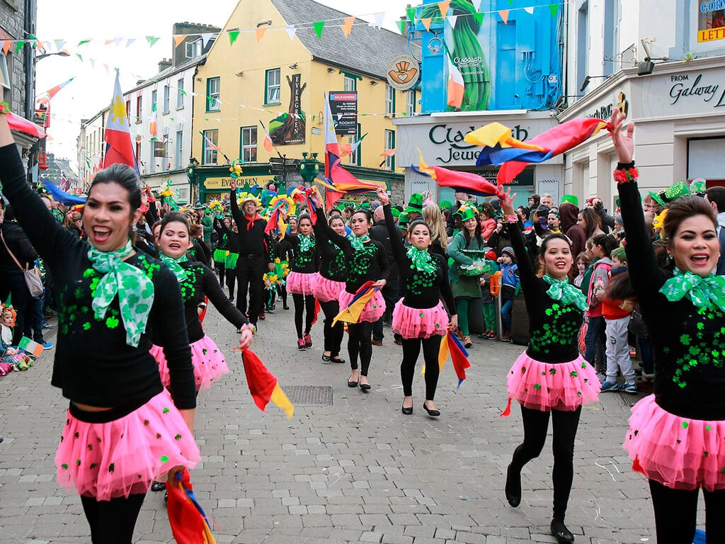 You should visit Galway for St Patrick's Day in Ireland, it's the place to be this year!