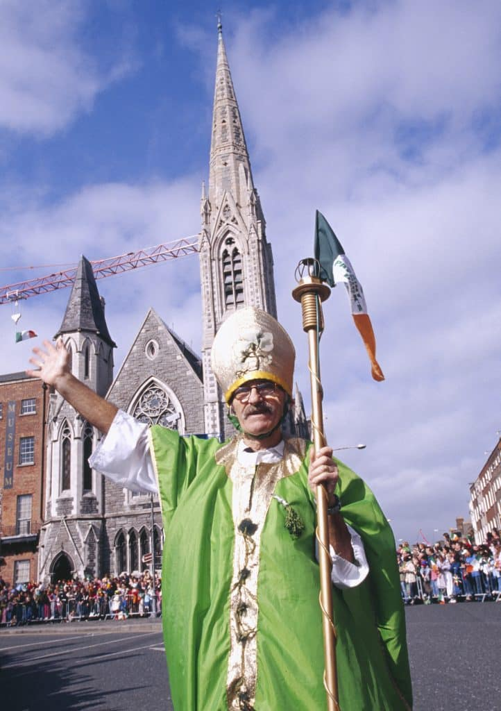 10 things that always happen on St. Patrick's Day in Ireland include countless Saint Patrick costumes