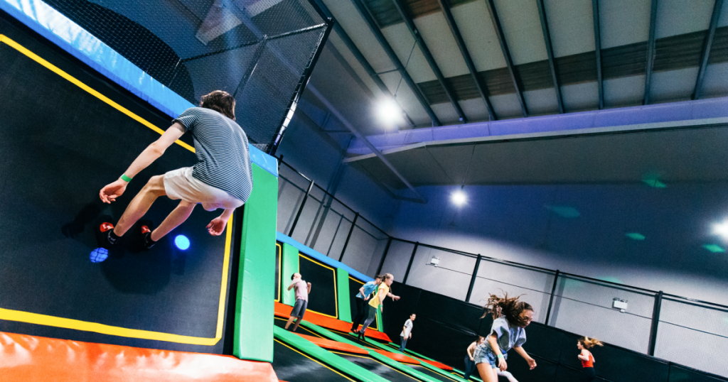 One of the top fun things to do in Cork with kids is take them to Air-tastic and Ninja Adventure Centre.