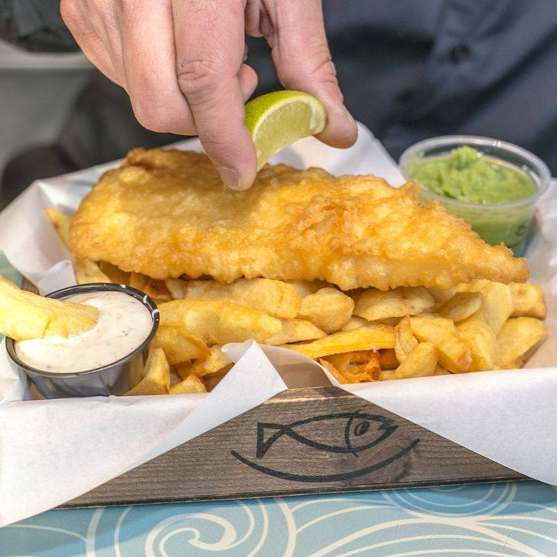 Beshoff Bros is another delicious fish and chip shop, this time in Dublin.