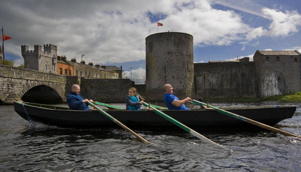 Taking a kayak on the River Shannon will offer you a different perspective.