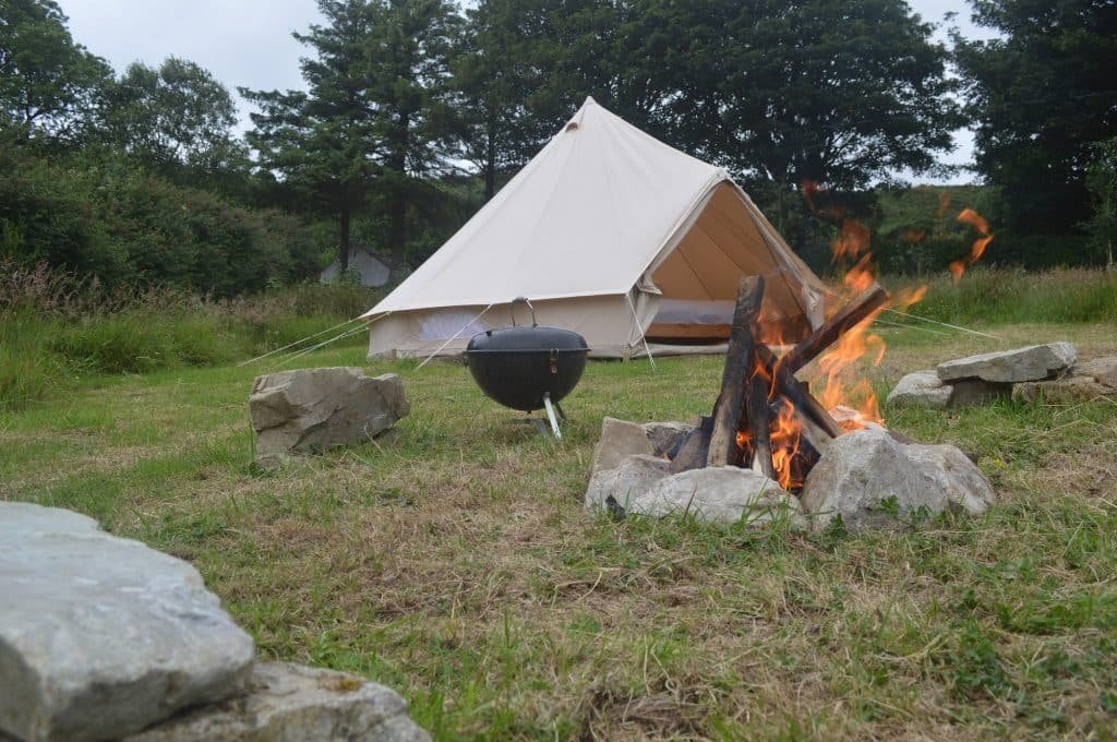 Portsalon Luxury Camping is another of the best camping sites in Ireland, for absolute tranquility.