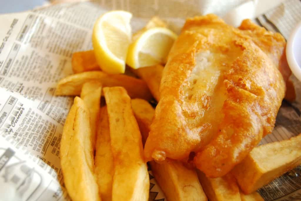 Some of the best places in Ireland to have fish and chips is Danollas in Westport, Co. Galway.