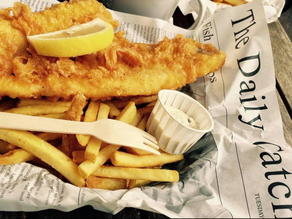 Looking great fish and chips, try out the Vintage Fish and Chip Co. in Lisburn.