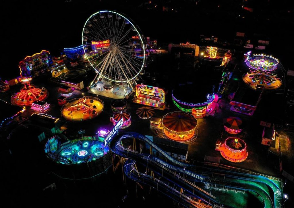 Another one of the best theme parks in Ireland is Funderland, a seasonal experience.
