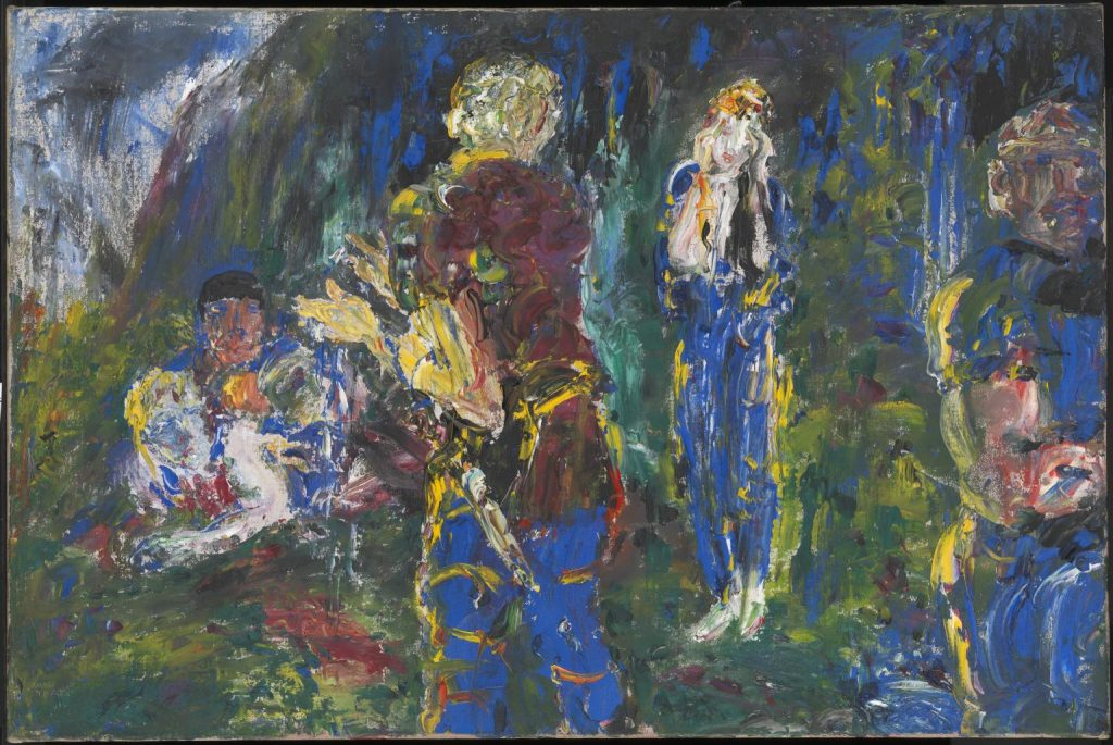 Another of the most famous Irish artists is Jack Butler Yeats, an amazing painter.
