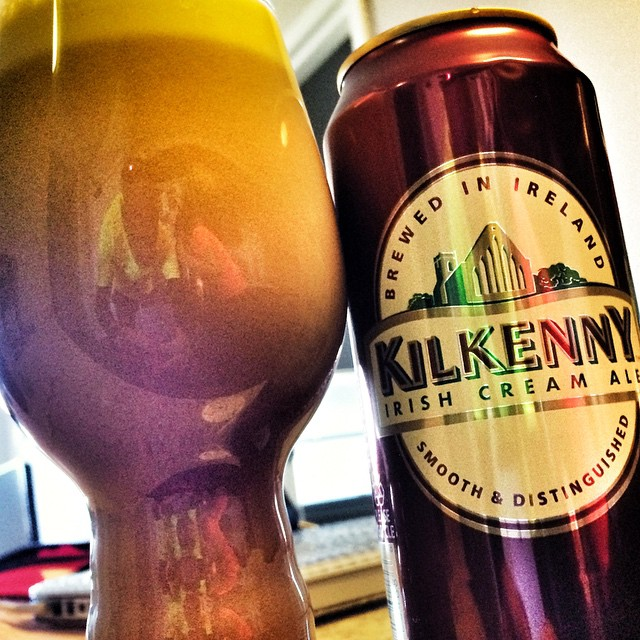 Looking a creamy Ale, try Kilkenny Irish Cream Ale, sure to hit the spot.