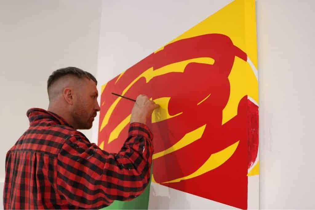 Another of the most famous Irish artists is Maser, a street artist.