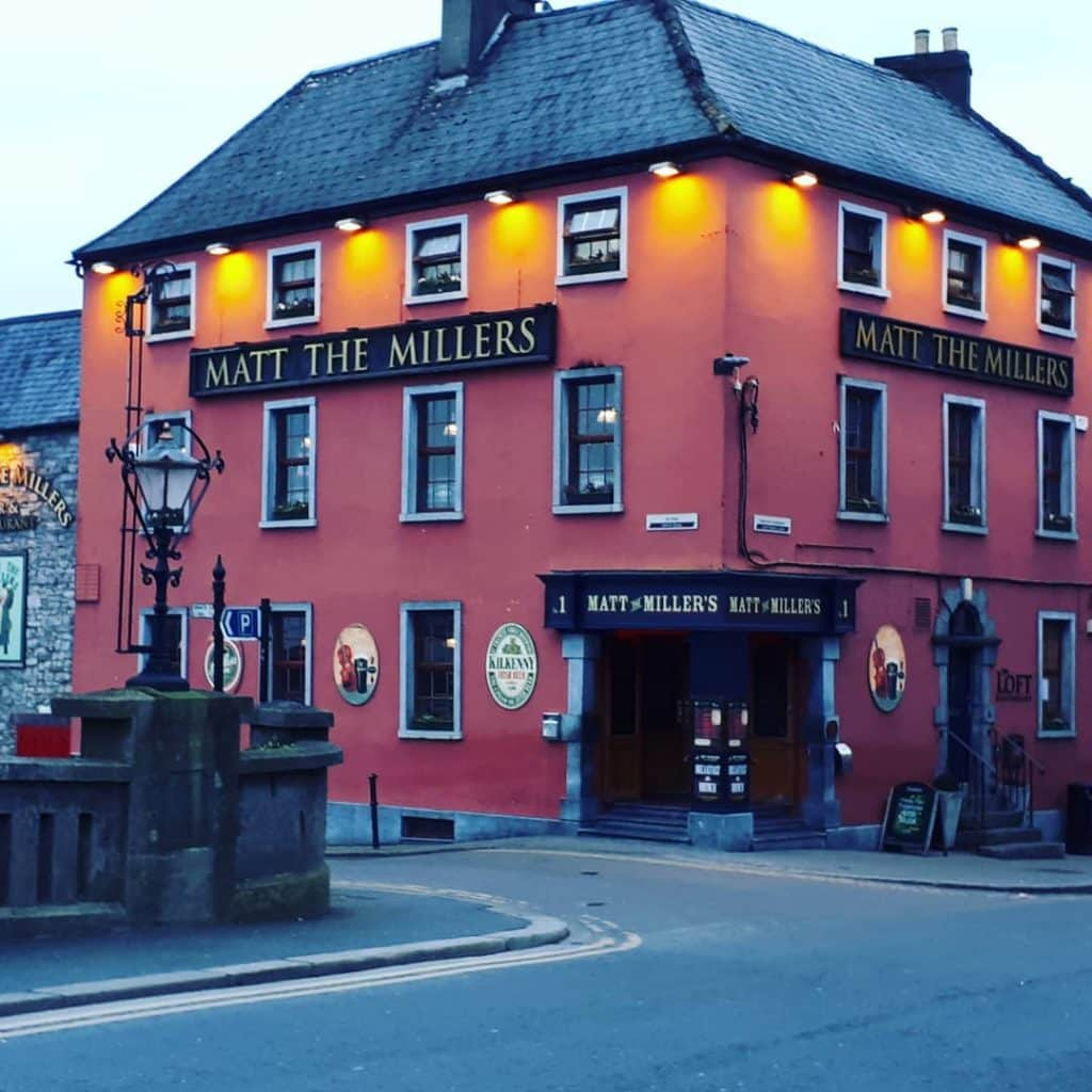 Matt the Millers pub is one of the top best things to do in Kilkenny.