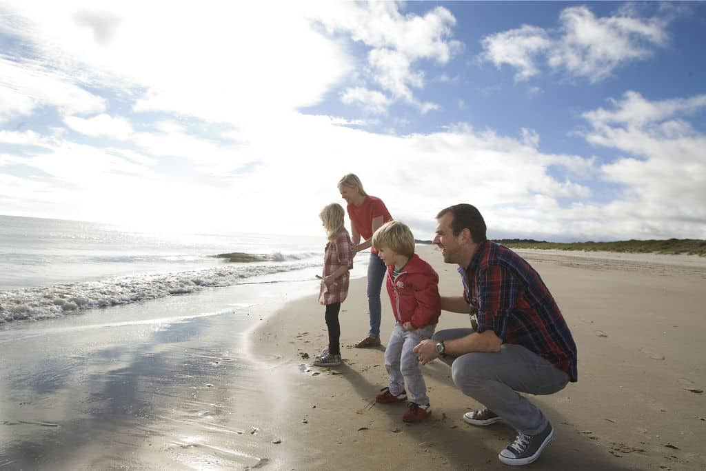 Curracloe is another of the top seaside towns in Ireland for a staycation.