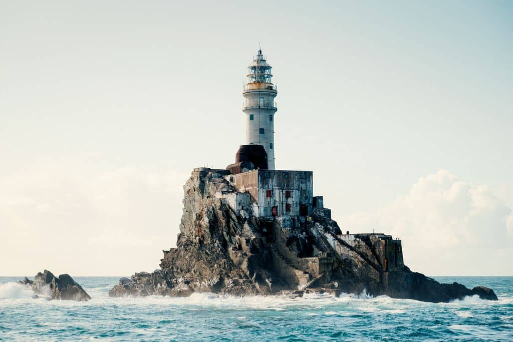 Fastnet Lighthouse is definitely one of the best things to do in West Cork.