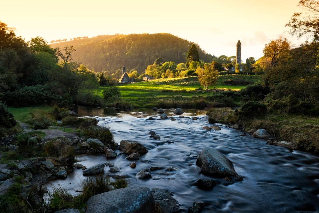 Another of the best things to do in Ireland is Glendalough, Co. Wicklow.