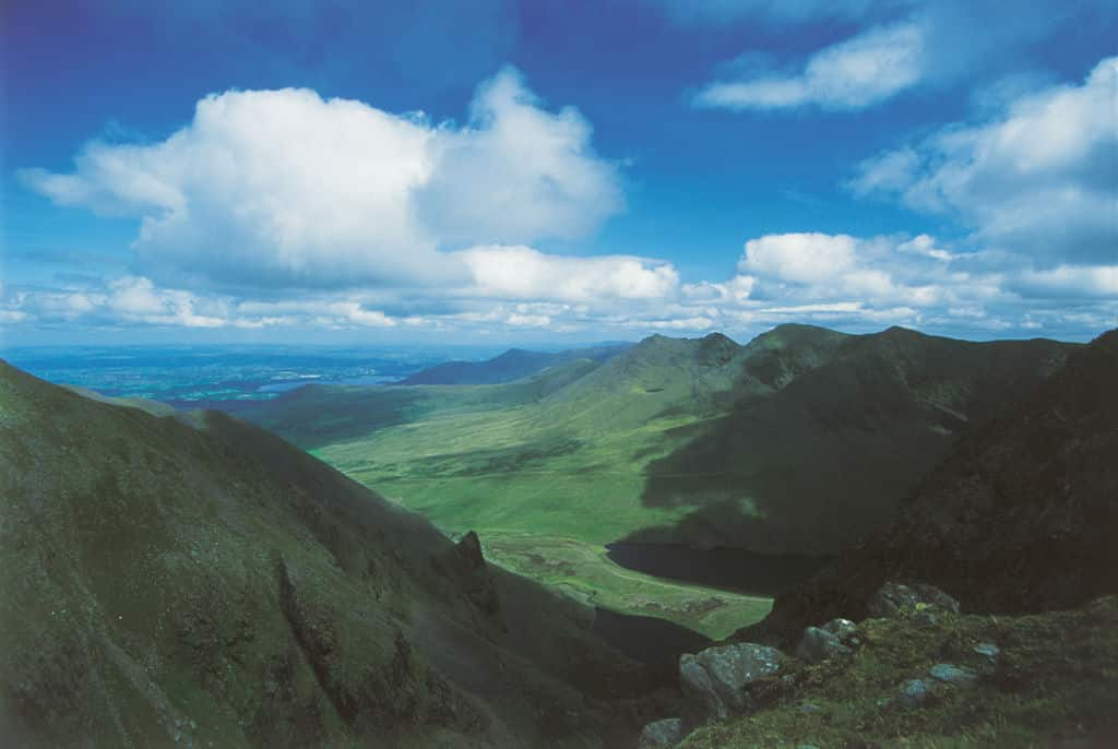 Looking a challenging hikes, one of the top things to do in Kerry is climb the MacGillycuddy's Reeks.