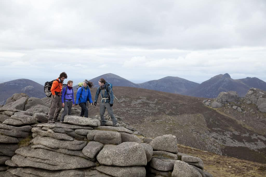 Slieve Binnian is the most beautiful peak in the country.