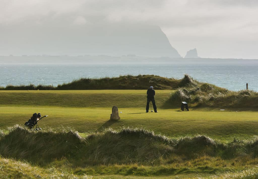 Playing a round of golf is one of the best things to do in Sligo.